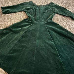 50's vintage 3/4 sleeve dress (2) w/ pockets